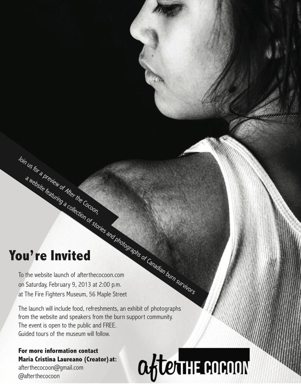 ATC launch invitation - poster